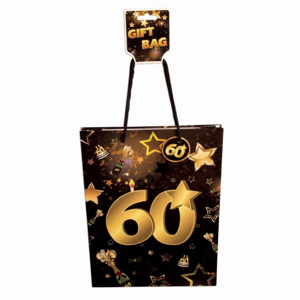 60th Birthday Gift Bags Party Favor Favour